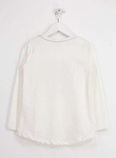 Asymmetry Sweatshirt Ekru